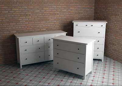 Ikea hemnes sorozat